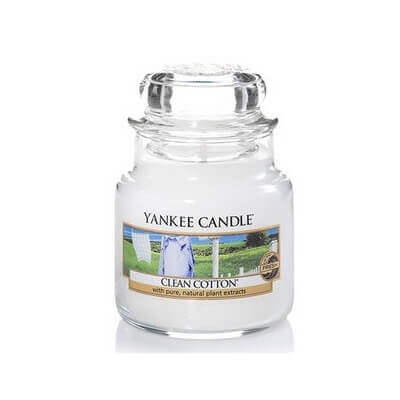 YANKEE CANDLE MAŁA CLEAN COTTON