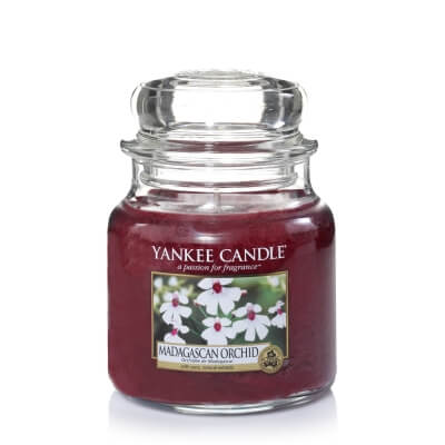 YANKEE CANDLE ŚREDNIA MADAGASCAN ORCHID