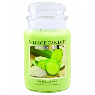 Village candle duża Sea Salt Cucumber